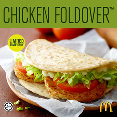 Hooray...! McDonald's Chicken Foldover is HERE! :-D profile image