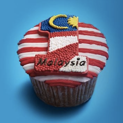 Bake a 1Malaysia themed cupcake & win prizes worth up to RM100,000!