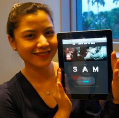 """Lisa Surihani ada """"surprise"""" untuk anda kalau anda tonton filem """"SAM"""" melalui Facebook di sini!"""