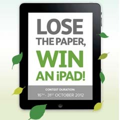 Only for Astro users - 3 simple steps for you to win a new iPad