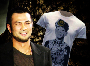 Bernard Chandran's 'Sultan' Shirts & Negaraku Designs Get Confiscated by Cops!