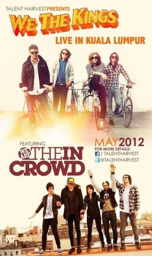 We The Kings Live In Malaysia 2012 !