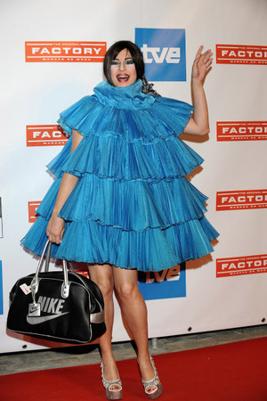 Celebrity Fashion Disasters: Is That A Blue Christmas Tree? And More