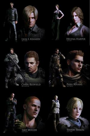 Resident Evil 6 games for Xbox 360 and PS3 previews, news, trailers and pictures
