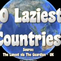 Malaysia In Top 10 List In The World!! .. For Being The 10th Laziest Country That Is.