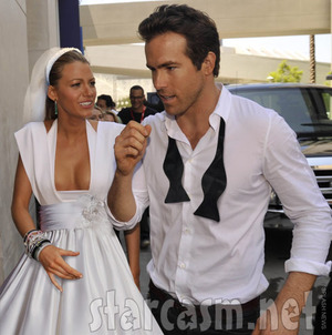 Ryan Reynolds and Gossip Girl, Blake Lively Get Married In Secret Ceremony!