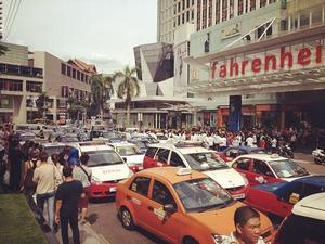 More to why 200 taxi drivers protested against the free GO-KL bus service