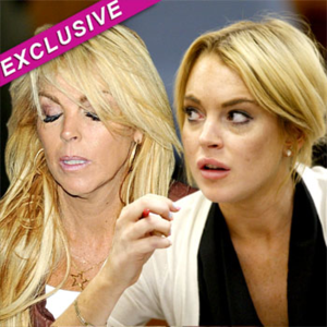 Lindsay Lohan And Mom Dina Get Into Fight Over $40K Loan