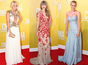 Fashion Round-Up And Other Highlights : The Country Music Awards 2012