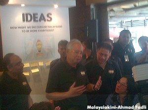 Will you accept Najib's challenge? Best idea wins RM100,000