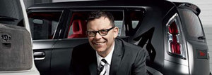Peter Schreyer is the first non-Korean president at Kia