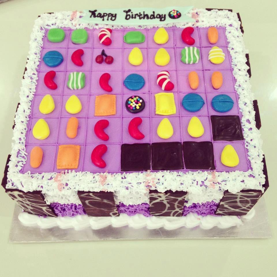 Cakes to Make You Love/Hate Candy Crush Even More