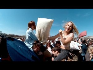 Pillow Fight Day 2013: Videos of Adults and Kids Beating Each Other