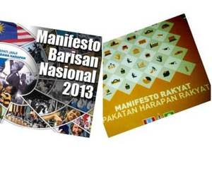 [TERKINI] BN Manifesto Promises More Cash & Hope For All #PRU13