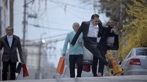 """Gentlemen"" Music Video Banned Because Psy Kicked A Traffic Cone"