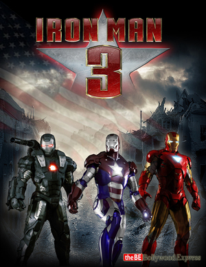 Iron Man 3 Starts Showing In Cinemas Tomorrow