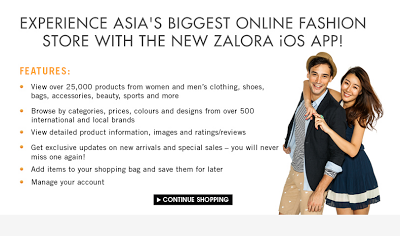 Hot : Zalora App for iOS !