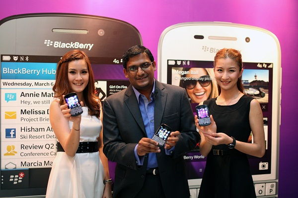 The new Blackberry Q 10 is finally launched in Malaysia!