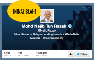 [TRENDING] 70% of Najib's Followers Are Fake. Believe It Or Not?