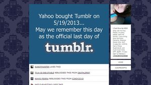 [NEW UPDATE] Tumblr Users Are Hating Yahoo! Right Now