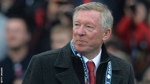 Sir Alex Ferguson Wins Premier League Manager Of The Year