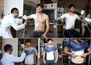 Would You Wear These Spray-On Clothes?