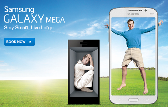 Samsung Launches Its Latest Flagship Galaxy Mega 5.8 Yesterday In India