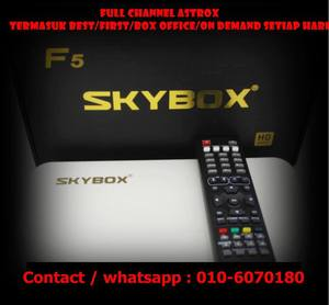 Skybox Full Channel Astrox Everyday Only RM18 Month!