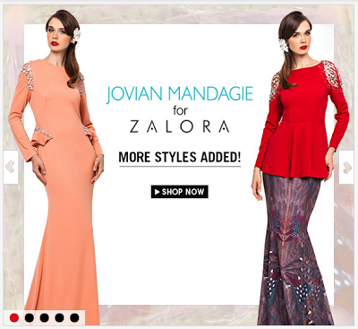 Jovian Mandagie for Zalora : Falling Feathers