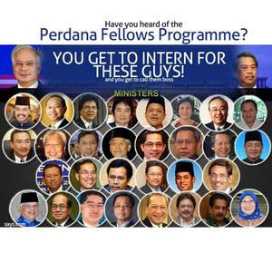 Najib Is Giving You A Chance To Intern For Him. You Want?