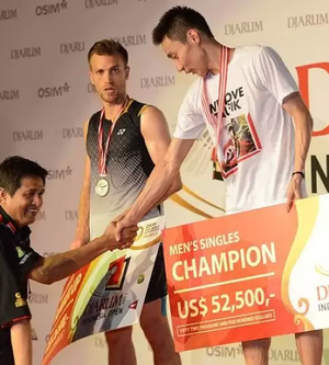 Datuk Lee Chong Wei Wins $52,500 & 4th Title Of 2013!