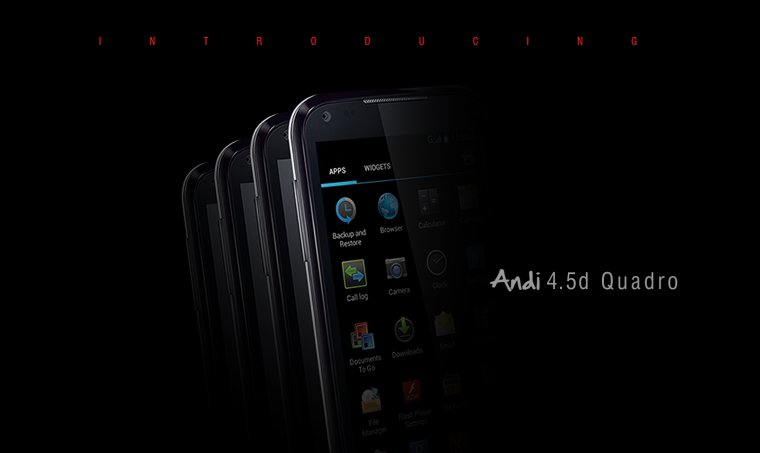 iBall Andi 4.5d Quadro Now Available On Infibeam