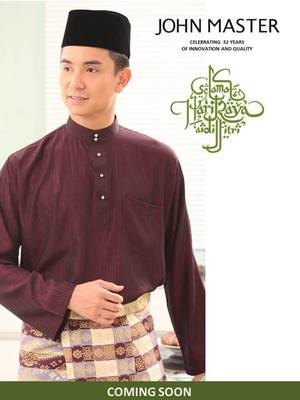 John Master offers Baju Melayu and also butang promotions with Baju ...